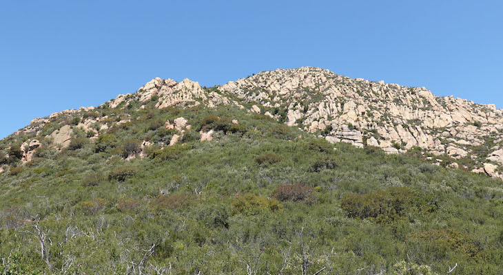Cathedral Peak Back Way Trail Reopened