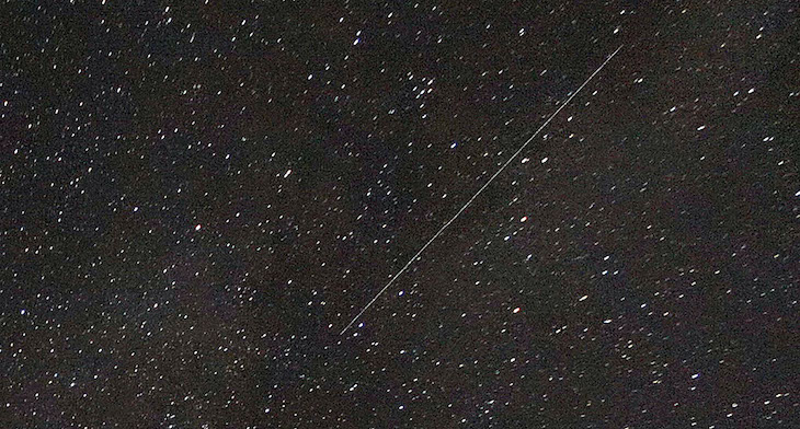 See hours of the 2020 Perseid meteor shower condensed to 10 seconds