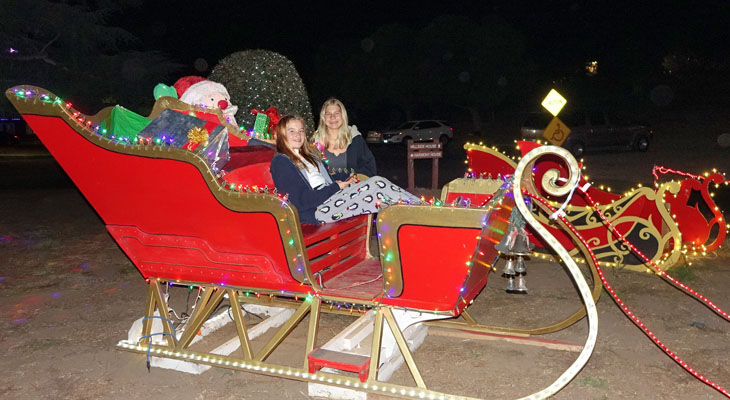Self-Guided Holiday Lights Tour title=