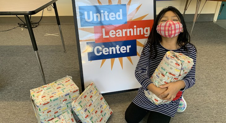 United Way and Partners Provide Gifts to 53 Local Children and Families title=