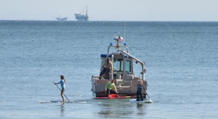 Paddle Boarders Rescued Off Miramar Beach