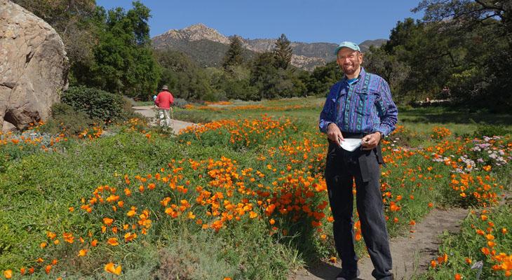 Santa Barbara Botanic Garden in Bloom title=