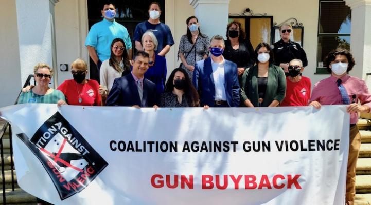 Officials Gather at Santa Barbara City Hall to Applaud Anonymous Gun Buyback