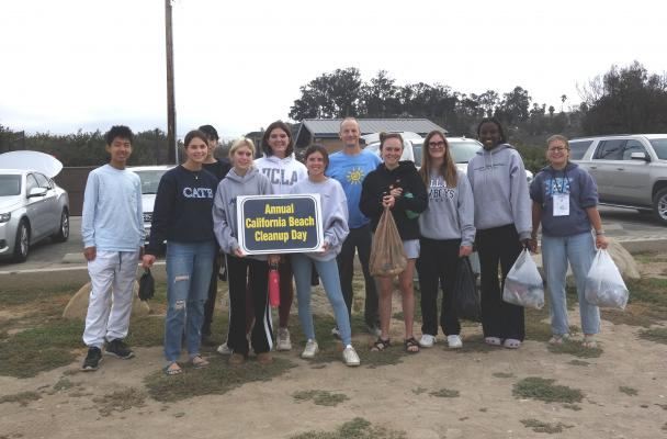 Cate School Does Coastal Cleanup
