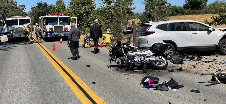 Fatal Motorcycle Collision in Santa Ynez title=