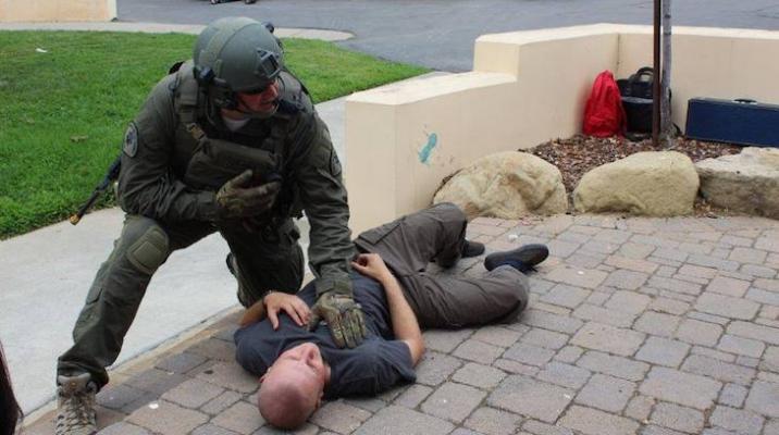 Police Training at Montecito Union School