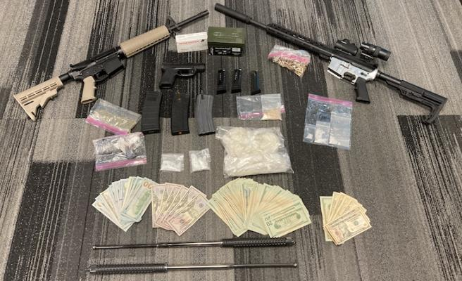 Barricaded Suspect Arrested in Santa Maria title=