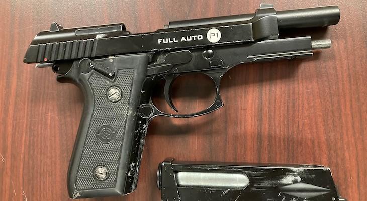 Solvang Man Arrested for Brandishing Firearm title=