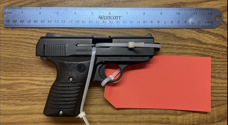 Suspect Arrested for Firearm and Domestic Violence Violations