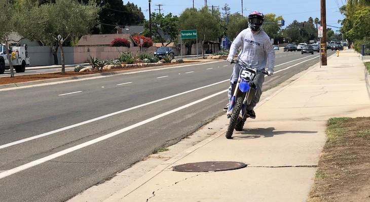 Sheriff's Office Seeks Public Assistance in Identifying Motorcyclist