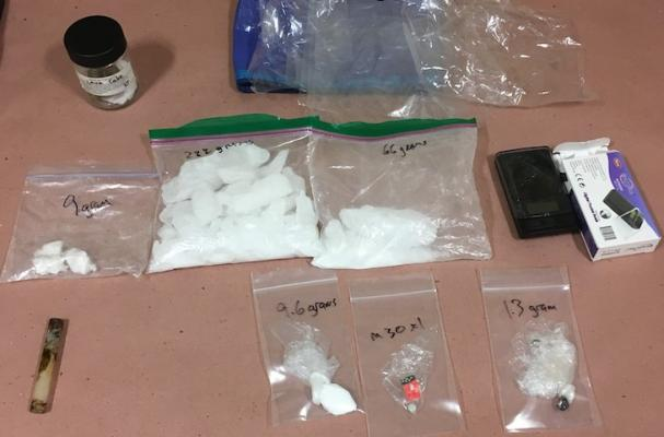 Two Arrested for Illegal Drugs During Traffic Stop