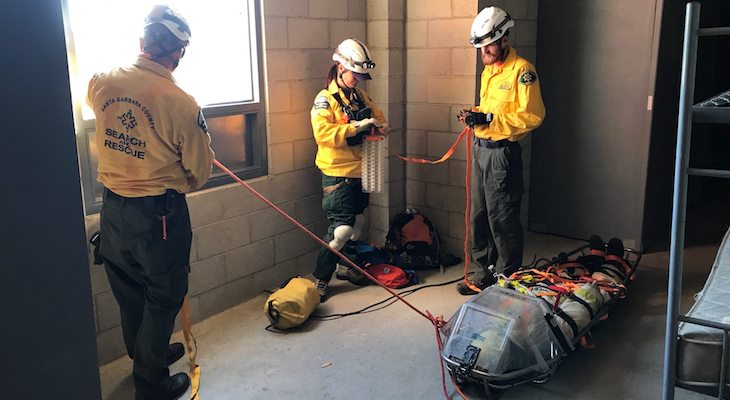 Search & Rescue Trains for Earthquake Strikes