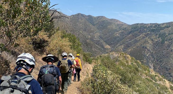 Hiker Rescued from San Ysidro Trail title=