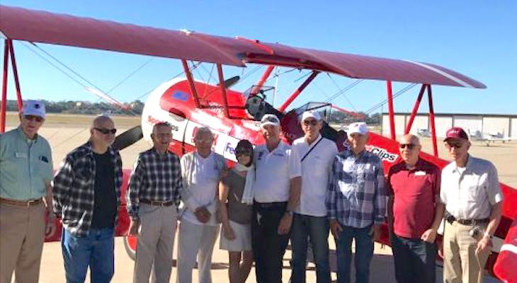 Local Military Vets Soar Above Santa Barbara  title=