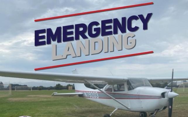 Emergency Airplane Landing in Lompoc