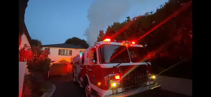 Lower Riviera Structure Catches Fire Due to Electrical Issue