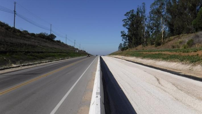 SR-246 Passing Lane Project Continues