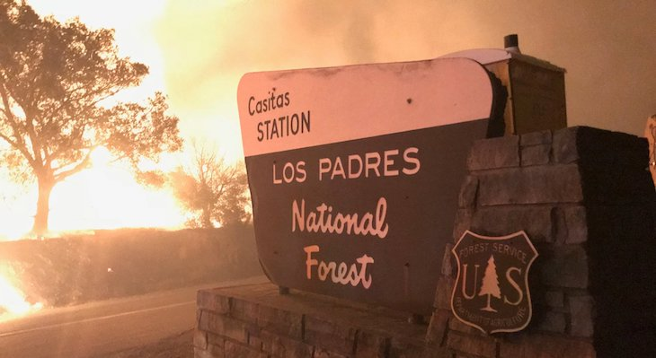 Los Padres National Forest Burned Area Emergency Response title=