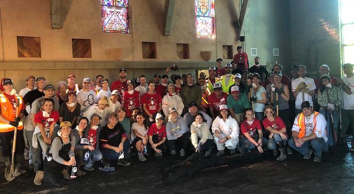 Santa Barbara Bucket Brigade Digs Out Montecito title=