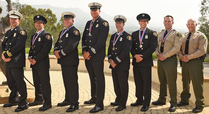 Firefighters and Pilots Honored for Heroic Efforts