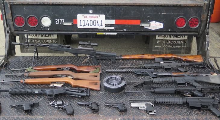 260 Firearms Exchanged at Anonymous Gun Buyback
