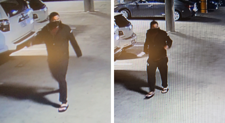 Theft of EV Charger from Downtown Parking Garage