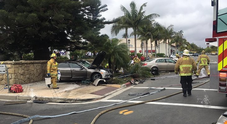 Traffic Collision with Major Injuries at Chapala and Carrillo title=