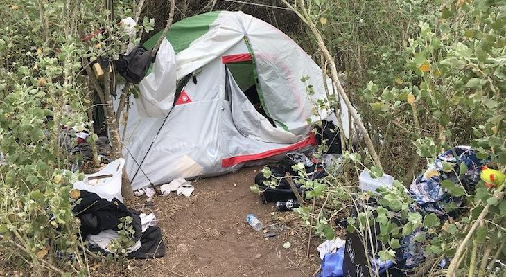 Illegal Camping Report Leads to Arrest of Two Carpinteria Residents title=