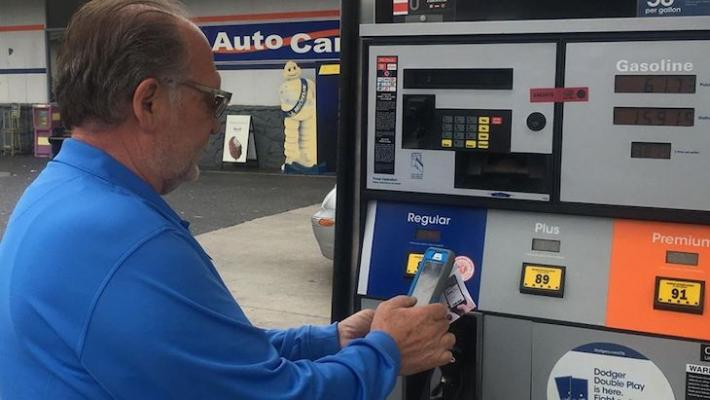 Scamming Credit Prevents Gas App Edhat Pump Card