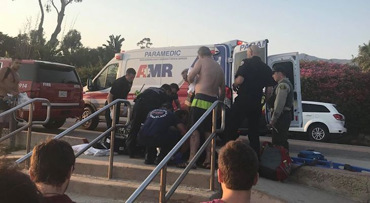 Possible Drowning on Butterfly Beach title=