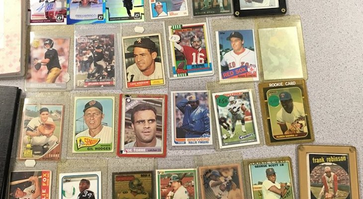 Welfare Check Turns Up Stolen Baseball Cards and Property title=