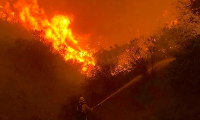 Hill Fire Fully Contained and Crews Gain Ground on Woolsey Fire