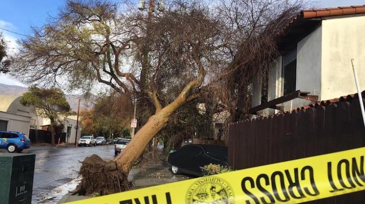 Brief Rainstorm Causes Destruction