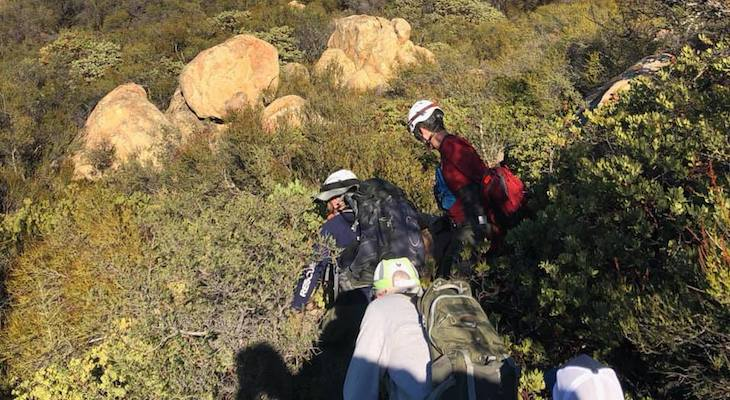 Hikers Rescued from Tunnel Trail