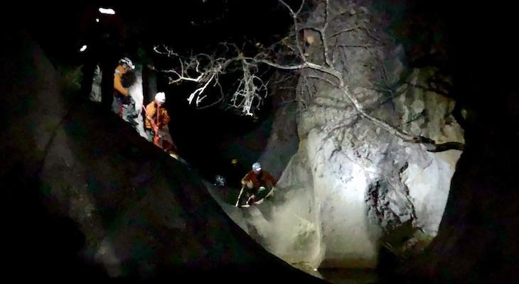 Six Hikers Rescued from 7 Falls