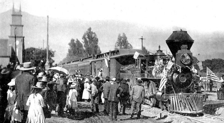 Way Back When: Remembering Santa Barbara's First Train Arrival