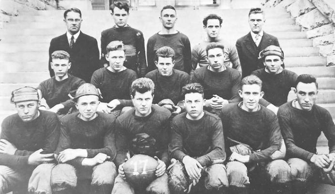 Santa Barbara Dons Football Team in 1918