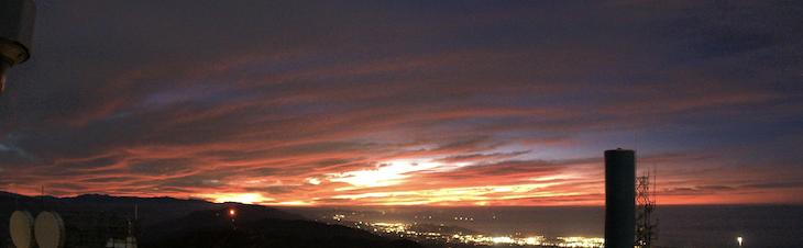 Views from Santa Ynez Peak