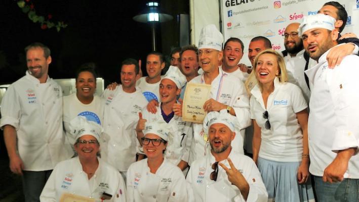 Gelato Festival Medals Presented in Santa Barbara title=