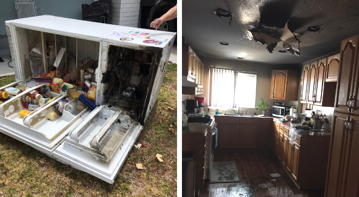 Refrigerator Causes House Fire in Goleta title=
