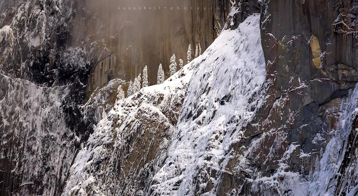 Yosemite National Park Winter Splendor title=