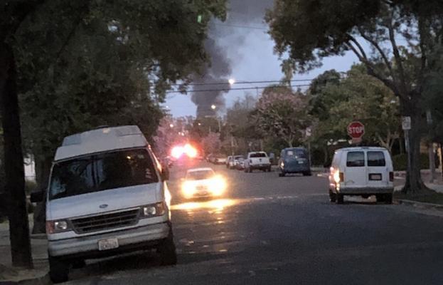 Vehicle Fire at MasterCraft Motors Injures One
