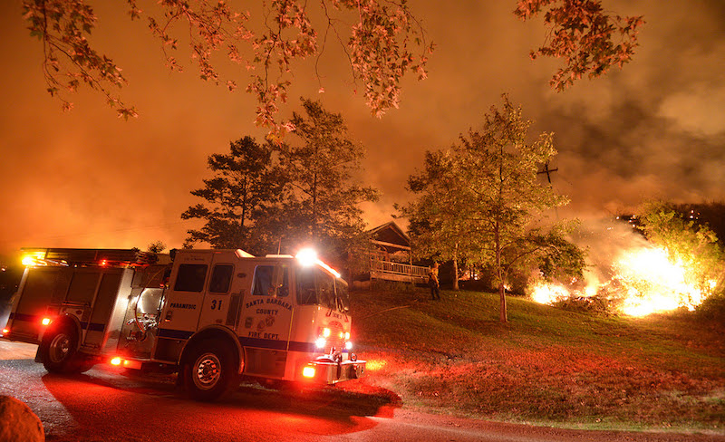 Santa Barbara County Fire Department will be conducting defensible space inspections title=
