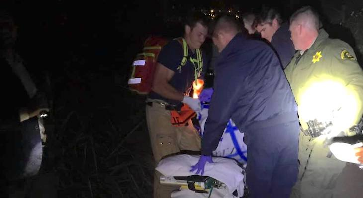 Deputies Assist Injured Man Near Haskell's Beach title=
