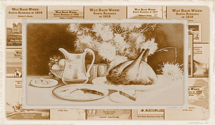 Way Back When: A Socially-Distant Thanksgiving Celebration