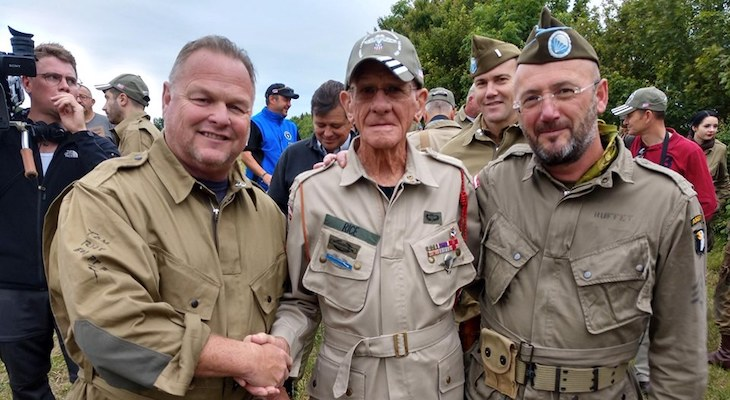 Local Sheriff's Deputy Takes Part in D-Day Anniversary title=