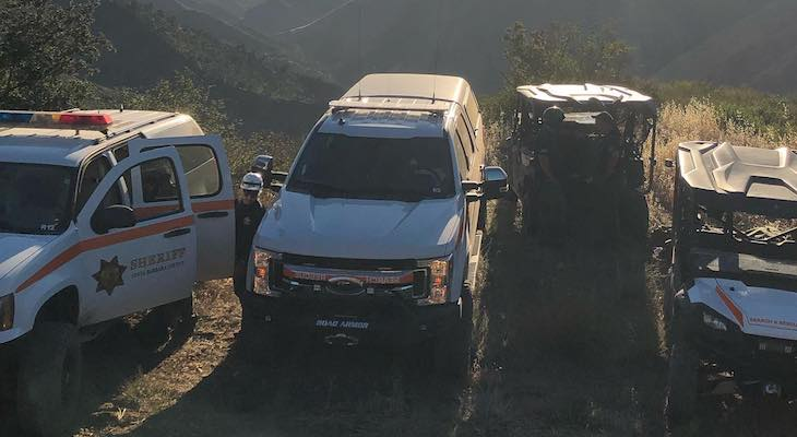 Search and Rescue Respond to Two Lost Hikers