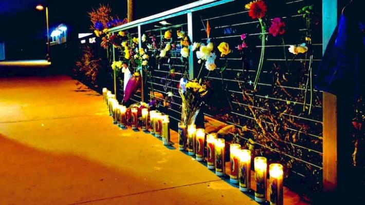 Locals Set Up Memorial for Conception Victims at Harbor
