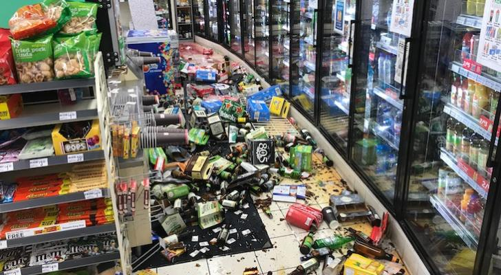 Man Arrested for Throwing Glass Bottles in 7-Eleven