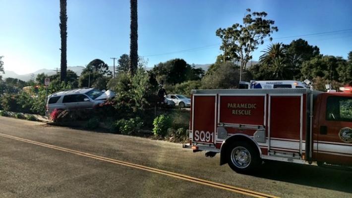 Vehicle Collision Near San Ysidro (Photo: Chipeddy)